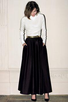 Full skirts, White heels and Skirts on Pinterest