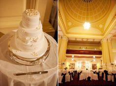 Nicole and Tim's Vintage Brisbane Wedding - cake
