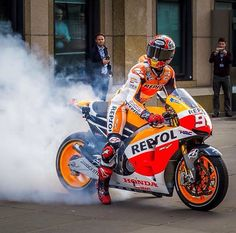 Marc Marquez running these streets!!!!