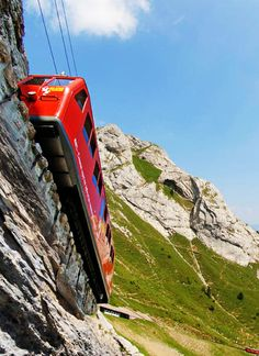 Mount Pilatus, Alpnach, Switzerland. Go to www.YourTravelVideos.com or just click on photo for home videos and much more on sites like this.