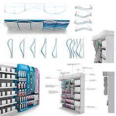point of sale design Exhibition Display Stands, Shop Display Stands, Pos Display, Exhibition Booth Design, Display Design, Exhibit Design, Pos Design, Rack Design, Divider Design