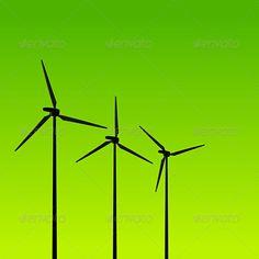 Eco Energy Turbines on Green
