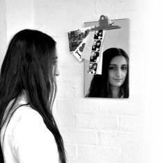 Clip Board Mirror