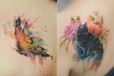Silo é uma tatuadora fofa da Coréia. Para aprender sobre sua paixão, ela teve que visitar a Austrália e a Tailândia, já que tatuagens era ilegais em seu país. Hoje, Silo já trabalha há mais de 10 anos no ramo e gosta de dar significado a cada desenho que cria. Sua arte é lindíssima,ela ilustra principalmente flores, animais e objetos simbólicos, em tons pastel super delicados e femininos. O maisincrível...
