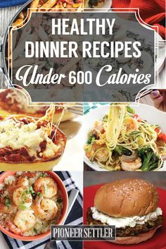 Want to try some healthy dinner recipes under 600 calories? If you want to start eating healthier this new year, then these healthy dinner recipes under 600 calories are a must-try! 600 Calorie Dinner, 600 Calorie Meals, No Calorie Foods, Low Calorie Recipes, Diet Recipes, Cooking Recipes, Dinners Under 500 Calories, Low Calories, Cooking Tips