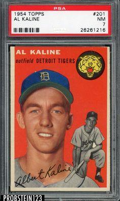 c72db5a841 Ken Griffey Jr, 1989, Upper Deck Rookie Card. See more. #SportsMemorbilia  1954 Topps #201 Al Kaline Detroit Tigers RC Rookie HOF PSA 7