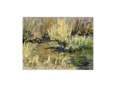 Marsh Twilight Twilight, Landscapes, My Arts, Painting, Paisajes, Scenery, Painting Art, Paintings, Painted Canvas