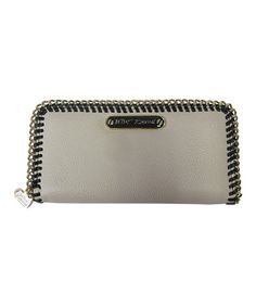 Another great find on #zulily! Black & Cream Tough Love Wallet by Betsey Johnson #zulilyfinds