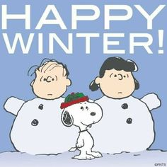 ☃ ❄ Happy 1st day of winter! ❄ ☃