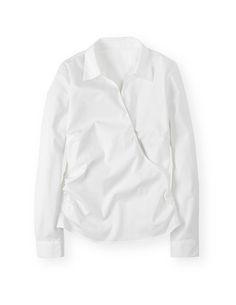 Wrap Shirt WA595 Shirts & Blouses at Boden