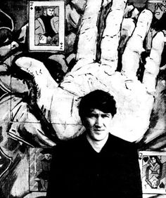 David Lynch photographed for Rolling Stone magazine, 1980. °
