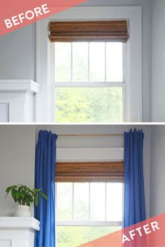 Simple DIY Renter Friendly Window Treatment