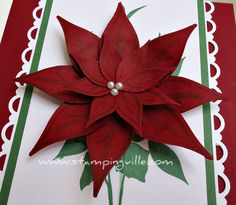 Christmas Crafts with Rubber Stamping and Decorative Punches