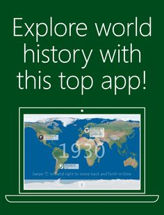 Students and teachers know the best way to learn anything is by experience. That's why we created this interactive tour of our world's history and the events that shaped it. #MSFTEDU