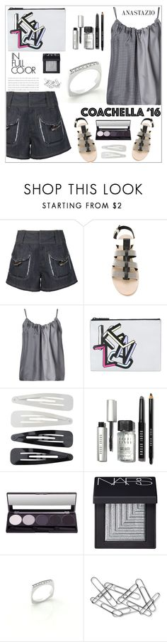 """Anastazio-coachella"" by anastazio-kotsopoulos ❤ liked on Polyvore featuring 10 Crosby Derek Lam, Brunello Cucinelli, Helmut Lang, Kenzo, Forever 21, Bobbi Brown Cosmetics, NARS Cosmetics and Home Decorators Collection"