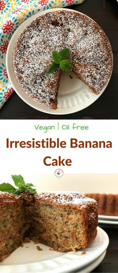Welcome to Simple Sumptuous Cooking, a vegan cooking blog! Here's a quick recipe for Irresistible Banana Cake.