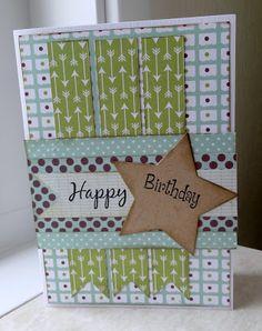 scrapcard girls: *Knutsel en Zo....Happy Birthday