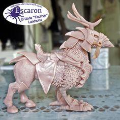 WIP2 - WoW Cenarion War Hippogryph - Sculpture by Escaron.deviantart.com on @DeviantArt