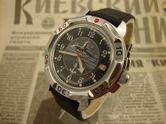Soviet watch, Vostok watch, mens watch, military watch, mechanical watch, ussr watch, russian watch, vintage mens watch, mens wrist watches