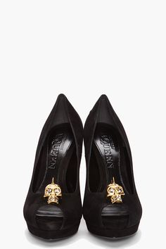 Alexander McQueen's beautiful addition to vamp chic.