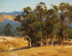Afternoon in the Hills by Laurie Kersey Oil ~ 11 x 14