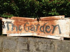 1stdibs | Whimsical Garden Sign