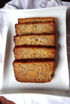 My husband said this was the best banana bread he has ever had and he is FUSSY!… My husband said this was the best banana bread he has ever had and he is FUSSY! Banana Bread Cake, Easy Banana Bread, Banana Bread Recipes, Banana Cakes, Easy Bread, Banana Bread Martha Stewart, Martha Stewart Recipes, Just Desserts, Delicious Desserts