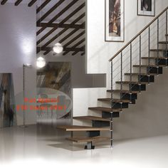 Vector Modular Staircase Kit in two widths - 70cm and 83cm