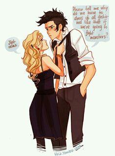 Annabeth & Percy