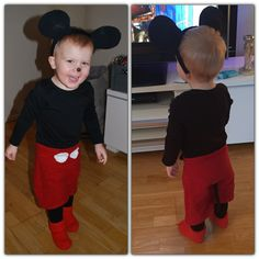 DIY MICKEY MOUSE COSTUME - MIKKE MUS KOSTYME