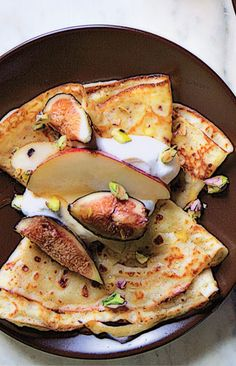 Want an easy and elegant brunch recipe? Cornmeal crepes fit the bill—seriously!