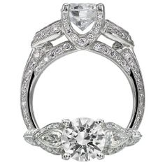 My engagement ring!  I have always loved it....
