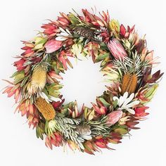 Did I mention how much I #love these #protea wreaths??? #photography by @carliestatsky #PrettyDirtyWork