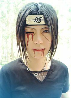 Itachi Uchiha Cosplay [Naruto] #cosplay #naruto  #otaku ---- last pinner ^  This is by far the BEST itachi cosplay I've ever seen.