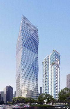 Gayanti City at Gatot Subroto CBD, South Jakarta / Mixed-use office & residential / Under Construction