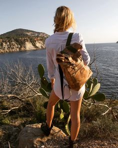 Backpack available in the webshop of Abel! see link in bio @Ibiza magazine #Abel #backpack #nomad #adventure #handmade #handcrafted #handcraft #ambacht #leatherbag  #design #conceptstore #groningen #handgemaakt #green #sustainabledesign #sustainablefashion #ecodesign #ecofashion #fairfashion #ibiza #esvedra