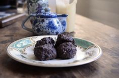 For the perfect mid-afternoon pick-me-up (minus the sugar rush), try one of our delicious Chocolate Coconut Nut Balls.
