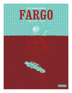 Cult Classic Movies / Fargo / Lure Design Poster Store