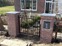 Prefab-poort geplaatst in Nieuwe-Tonge – Klassieke hekwerken, specialist maatwerk hekken