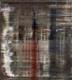 'Abstraktes Bild' (2000) by German artist Gerhard Richter (b.1932). Oil on canvas, 200 x 180 cm. via the painter's site