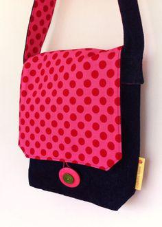 b6063db8d91 Mini Messenger Bag for Kids Great Crossover by RaspberryButton Mini Messenger  Bag, 7 Year Olds