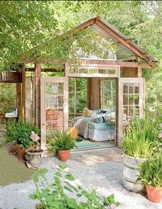 Back yard retreat! I would nap out there constantly!!!!!!