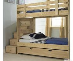 bunk beds with steps - Google Search