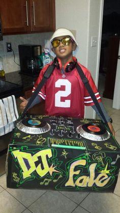 DJ Halloween Costume
