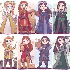 ✨💛❤️ All the gender swapped Founders with my original founders! 💚💙✨ who's ya favourite? Harry Potter Cartoon, Cute Harry Potter, Harry Potter Artwork, Harry Potter Drawings, Harry Potter Pictures, Harry Potter Wallpaper, Harry Potter Characters, Harry Potter World, Harry Potter Hogwarts
