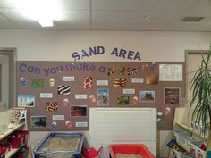 FS1 Sand area display