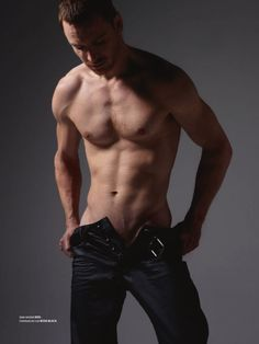 Michael Fassbender -- I could roast marshmallows on that. <---HAHAHAHA Pinned for the comment and the Body on Fassy ;)