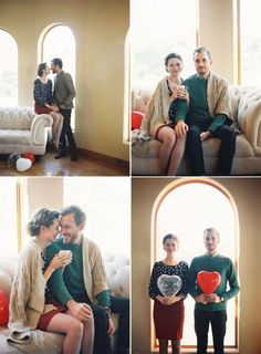 Love this vintage inspired Valentine's Day Proposal Photoshoot! – Photography by Caroline Tran