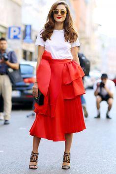 Milan Fashion Week Street Style SS16: Eleonora Carisi
