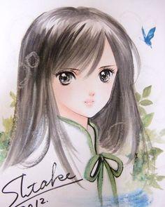Lady forest knight by manga artist Shiitake.